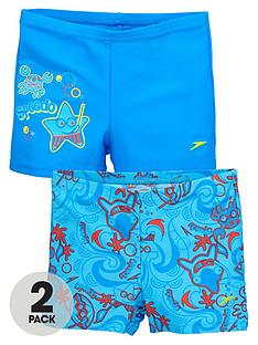speedo-speedo-toddler-boys-sea-squad-2-pack-aquashorts