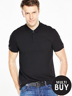v-by-very-short-sleeve-pique-polo
