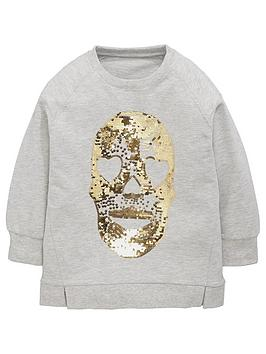 v-by-very-girls-sequin-skull-sweat-top