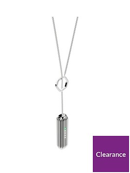fitbit-flex-2trade-accessory-lariat-pendant-fitness-tracker-not-includednbsp--silver