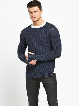 Replay Washed Knitted Jumper