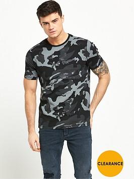 river-island-metallic-camo-print-tshirt