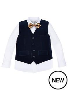 monsoon-paul-velvet-waistcoat-set