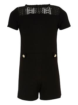 river-island-girls-black-ponte-lace-playsuit