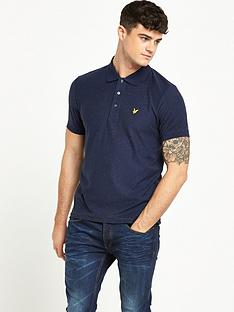 lyle-scott-flecked-polo-shirt