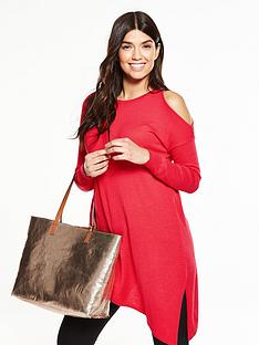 v-by-very-cold-shoulder-asymmetric-jumper
