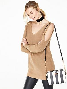 v-by-very-cut-out-shoulder-fisherman-rib-jumper