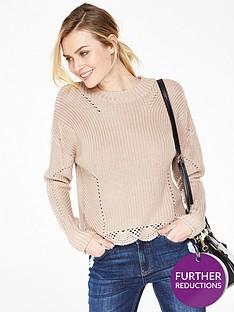 v-by-very-scallop-hem-pointelle-stitch-jumper