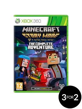 xbox-360-minecraft-story-mode-the-complete-adventure-xbox-360
