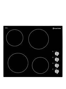 russell-hobbs-rh60eh401-black-glass-60cm-wide-4-zone-electric-hob
