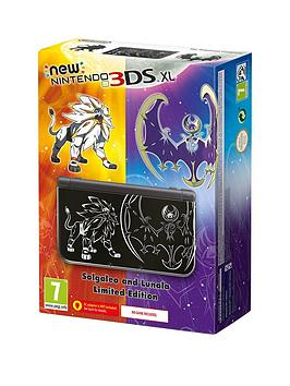 Nintendo 3Ds Xl New Nintendo 3Ds Xl Pokemon Sun And Moon Limited Edition