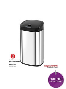 morphy-richards-square-42-litre-sensor-bin-ndash-stainless-steel