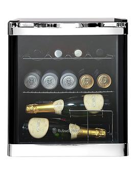 Russell Hobbs   47 Litre Wine Cooler With Glass Door - Rhgwc1B