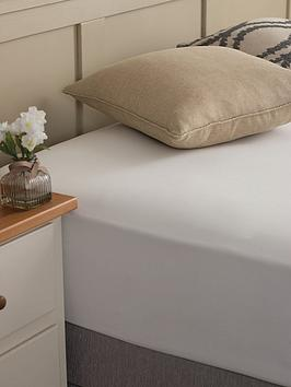 Silentnight Silentnight Easy Care 180 Thread Count Cotton Rich Fitted  ... Picture