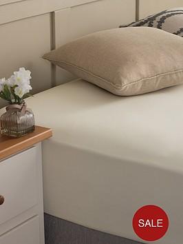 silentnight-easycare-180-thread-count-cotton-rich-fitted-sheet--nbspcream