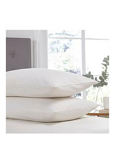 silentnight-easy-care-180-thread-count-cotton-rich-standard-pillowcases-pair-cream