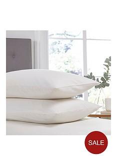 silentnight-easy-care-180-thread-count-cotton-rich-standard-pillowcases-pair-cream