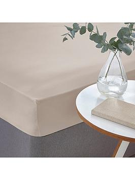 silentnight-easycare-180-thread-count-cotton-fitted-sheet--nbspstone