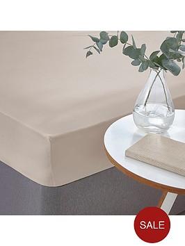 silentnight-easycare-180-thread-count-cotton-fitted-sheet--nbspstone