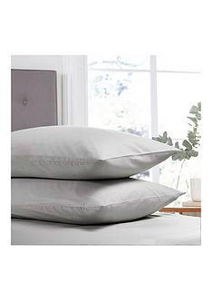 silentnight-easy-care-180-thread-count-cotton-rich-pillowcases-pair-silver