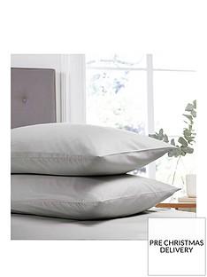 silentnight-easy-care-180-thread-count-cotton-rich-standard-pillowcases-pair-silver