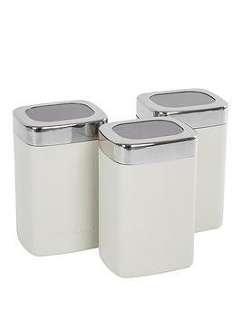 Morphy Richards Morphy Richards Accents Special Edition Cannisters Sand