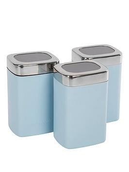 Morphy Richards Morphy Richards Accents Special Edition Cannisters Azure