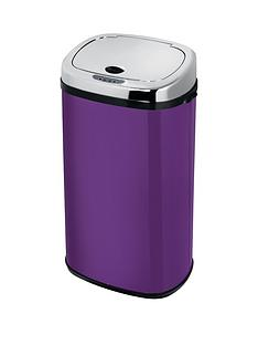 morphy-richards-chroma-42-litre-square-sensor-bin-in-orchid