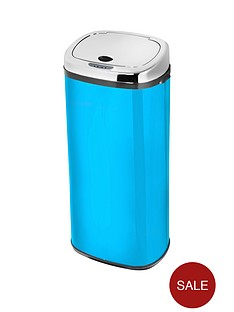 morphy-richards-chroma-42-litre-square-sensor-bin-in-iris