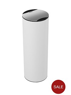 morphy-richards-aspect-50-litre-round-sensor-bin-ndash-white