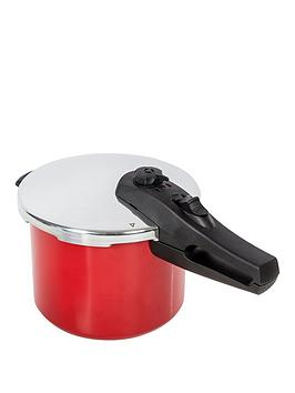Morphy Richards Chroma 5Litre Pressure Cooker In Red