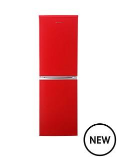 russell-hobbs-rh54ff170r-55cm-wide-173cm-high-fridge-freezer-red