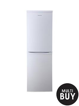 russell-hobbs-rh54ff170w-55cm-wide-173cm-high-fridge-freezer-white