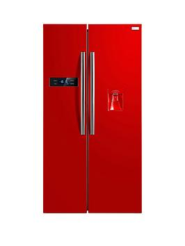 Russell Hobbs Rh90Ff176RWd 176Cm High 90Cm Wide American Style Fridge Freezer With Water Dispenser