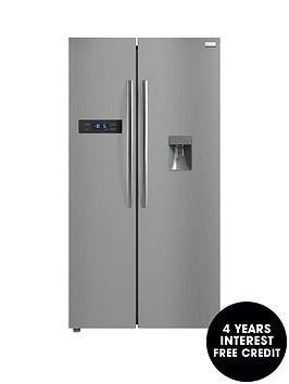 russell-hobbs-rh90ff176ss-wdnbspamerican-style-freestanding-fridge-freezernbspwith-free-extended-guarantee