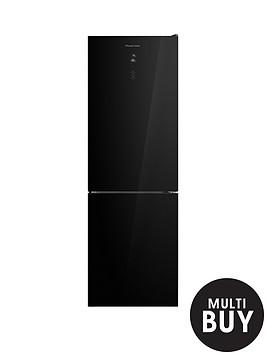 russell-hobbs-rh60ff186bgnbsp186cm-high-60cm-wide-glassnbsptotal-no-frost-fridge-freezer-black