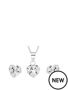 love-silver-sterling-silver-cubic-zirconia-heart-pendant-and-earring-set-in-christmas-bauble