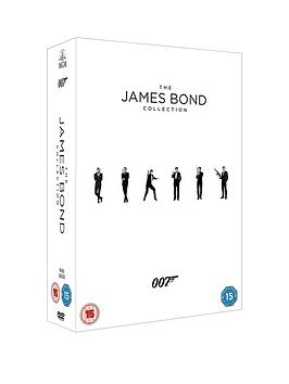James Bond Complete Movie Collection 23 Movie Dvd Box Set