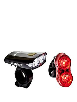 awe-x-fireflashtm-rechargeable-bicycle-2-led039s-front-amp-rear-usb-20-light-set-80-lumens