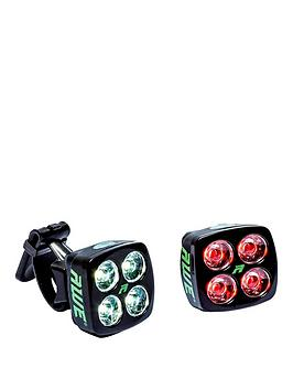 Awe   blitz¿ Usb Light Set Black 80 Lumens