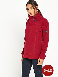 berghaus-pavey-fleece-red