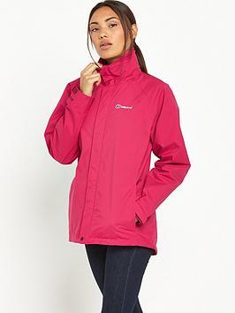 Berghaus Calisto Alpha Hydroshell Waterproof Jacket  Pink