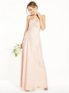 v-by-very-bridesmaids-button-back-satin-maxi-dress-champagne