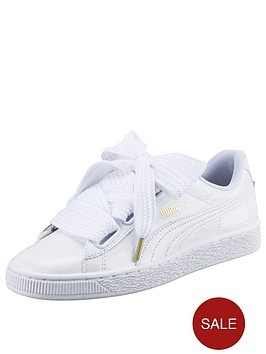 puma basket heart 34