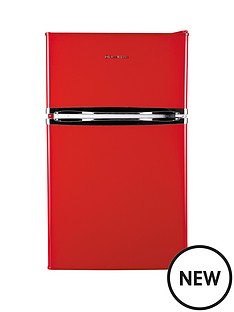 russell-hobbs-rhucff50r-50cm-wide-under-counter-freestanding-fridge-freezer-red