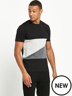v-by-very-colour-block-t-shirt