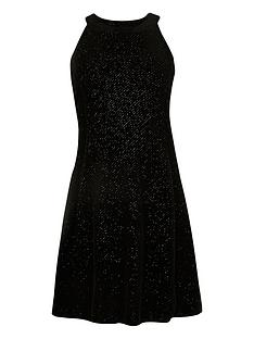 river-island-girls-black-sparkly-velvet-dress