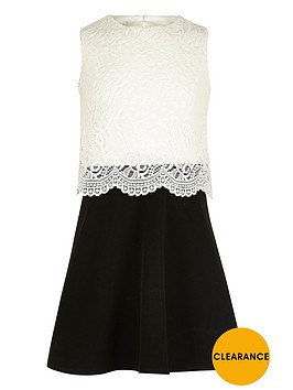 river-island-girls-black-and-white-lace-layered-dress