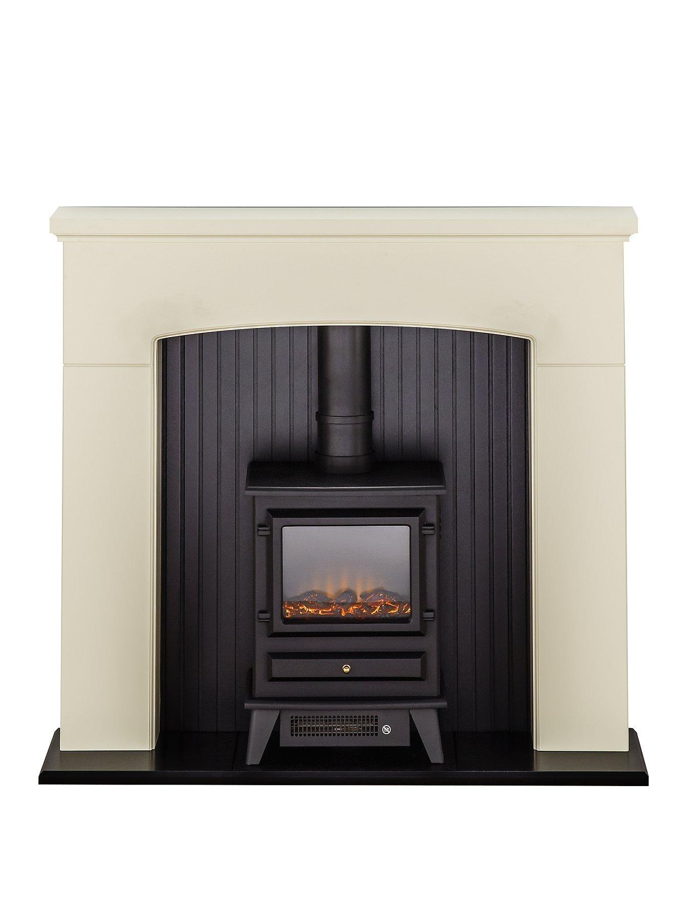 Compare prices for Adam Fire Surrounds Denbury Electric Fireplace Suite With Stove