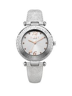 lipsy-lipsy-silver-tone-dial-silver-pu-strap-ladies-watch